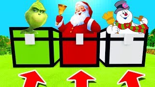 Download Minecraft PE : DO NOT CHOOSE THE WRONG CHEST! (Grinch, Santa & Frosty The Snowman) Video