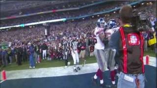 Download ″David and Eliath″ / Eli To Plaxico Game Winning TD (HD) Video
