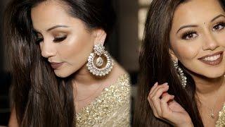Download Diwali Makeup Tutorial 2015 | Golden & Bronze Party Makeup Video