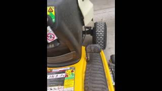 Download Cub Cadet LTX1040 safety switches Video