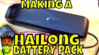 Download Making a Hailong battery pack (time lapse) - Electric Bike Battery - Shark pack / Jet pack Video
