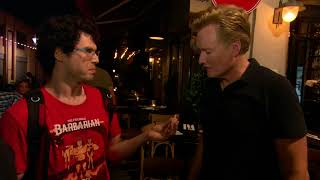 Download Conan Visits Israel and is Embraced by the Locals Video