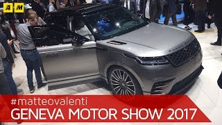 Download Range Rover Velar, il SUV che spaventa i tedeschi | Salone di Ginevra 2017 [ENGLISH SUB] Video