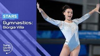 Download Giorgia Villa | Future of Italian Gymnastics | Trans World Sport Video