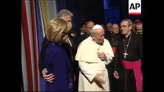 Download Pope John Paul II with Carter, Reagan, Bush Snr & Clinton Video