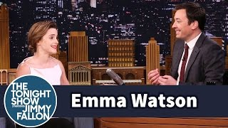 Download Emma Watson Once Mistook Jimmy Fallon for Jimmy Kimmel Video