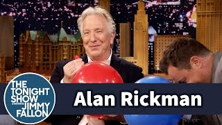 Download Alan Rickman Takes Jimmy to Task for His Impersonation Video