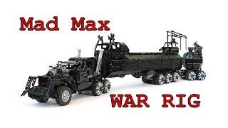 Download Lego Technic Mad Max War Rig / Лего Техник Безумный Макс Боевая Фура Video