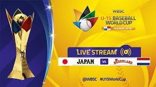 Download Japan v Netherlands - U-15 Baseball World Cup 2018 Video