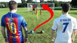 Download Cristiano Ronaldo vs. Messi - Free Kick Challenge | In Real Life! Video