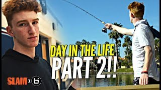 Download Day In The Life w/ Nico Mannion PART 2!! How Nico Got His HOPS!? + Goes Fishing & Loses a Bet 😂😂 Video
