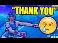 Download KID CRIES TEARS OF JOY ON FORTNITE!!! (EMOTIONAL) Video