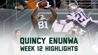 Download Quincy Enunwa Amazing 109-Yard Performance | Patriots vs. Jets | NFL Week 12 Player Highlights Video