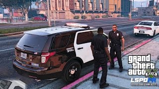 Download GTA 5 PC MODS - LSPDFR - POLICE SIMULATOR - EP 19 (NO COMMENTARY) CITY PATROL Video