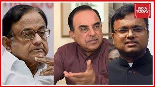 Download Chidambaram's Illegal Clearances Helped Karti, Says 'Happy' Swamy Post CBI Raid Video