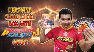 Download Unboxing Choki Choki Box with Boboiboy Galaxy Augmented Reality (AR) Cards ! Video