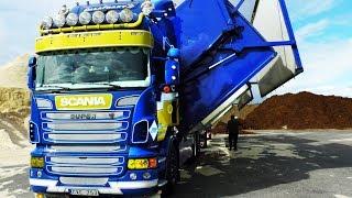 Download Scania Wood Chip Truck, Sweden Video
