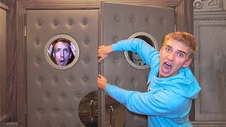 Download GAME MASTER 24 HOUR OVERNIGHT ESCAPE ROOM CHALLENGE in SECRET HIDEOUT! (Chad Wild Clay goes Missing) Video