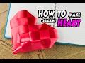 Download วิธีพับเหรียญโปรยทานรูปหัวใจใหญ่ #diy heart#heart craft#how to make an origami heart (by ลูกน้ำ) Video