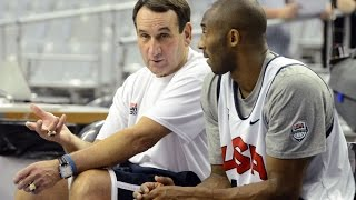 Download Mike Krzyzewski Coach K Talks About Kobe Bryant and Compares Him to Michael Jordan Video