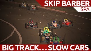 Download Big track...slow cars...draft draft draft Video