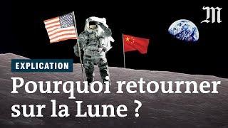 Download Pourquoi vouloir marcher à nouveau sur la Lune ? Video