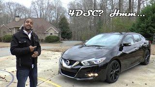 Download 2017 Nissan Maxima SR Midnight Edition Review - 4DSC? Hmm... Video