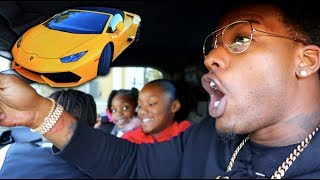 Download I TOOK MY KIDS TO SCHOOL IN A LAMBORGHINI!!! Video