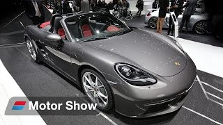 Download Porsche 718 Boxster vs Abarth 124 Spider – 2016 Geneva Motor Show Video
