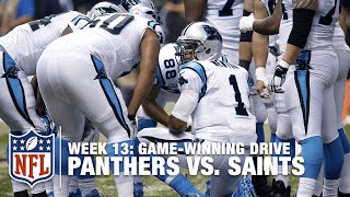 Download Cam Newton Leads Game-Winning TD Drive to Keep the Panthers Perfect! | Panthers vs. Saints | NFL Video