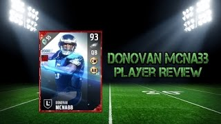 Download Madden NFL 17 Ultimate Team 93 Overall Donovan McNabb Player Review Video