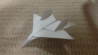 Download 折り紙 紙飛行機 戦闘機 F15 折り方 作り方 How to make an F15 Eagle Jet Fighter Paper Plane origami Video