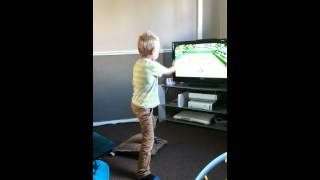 Download Kid breaks tv Video
