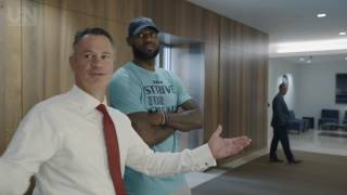 Download LeBron James makes surprise visit to thank Goodyear employees Video