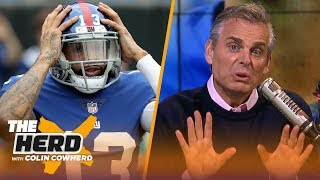 Download Colin Cowherd defends OBJ criticizing Eli Manning, message for Eagles 'fun' culture | NFL | THE HERD Video