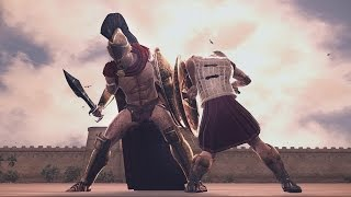 Download Leonidas of Sparta vs Hector of Troy Rome 2 Total War Video