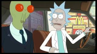 Download Rick and Morty - szechuan sauce (Mcdonalds drive through) Video