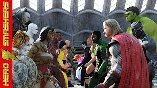 Download Thor vs Wonder Woman vs Hulk vs Black Panther vs Aquaman vs The Flash vs Neo vs Kratos vs Darkseid Video