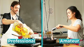 Download Amateur Chef Vs. Professional Chef: Hangover Foods Video