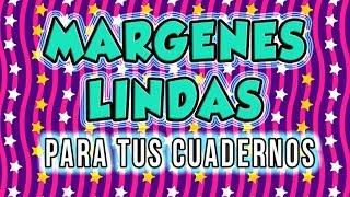 Download MARGENES Bonitos y Faciles Para Cuadernos para adolescentes / Lorena G ♥ Video