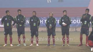 Download Sportsmen take oath ahead of final match: Northeast Tamchon Football Tournament Video