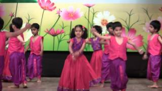 Download AbhiRam's Lagaan Dance - Euro Kids Annual Day 2013 Video