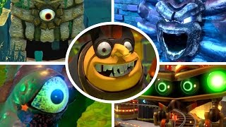 Download Yooka-Laylee - All Bosses (No Damage) Video