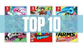 Download Top 10 - Mejores juegos Nintendo Switch (2017) Video