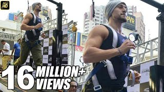 Download Tiger Shroff's Hardcore Treadmill Workout At 16.2 KM/PH Video