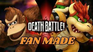 Download Donkey Kong VS Bowser | DEATH BATTLE!/Fan Made Video