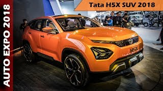 Download Tata H5X SUV At Auto Expo 2018 - Overview In Hindi Video