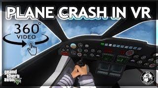 Download Plane Crash in Virtual Reality - 360° GTA V Video