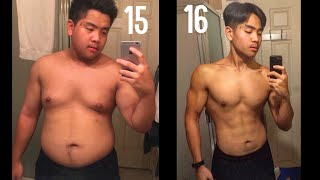 Download 1-2 Year Weight Loss Transformation (15-16) Teenager Alex Ho Video