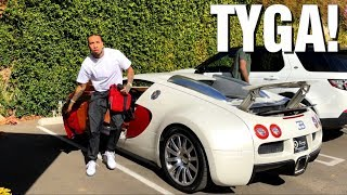 Download TYGA DRIVING HIS BUGATTI VEYRON in Los Angeles! Video